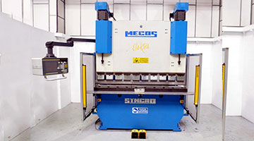 MECOS -SYNCHRO ELECTRA SERVO PRESS BRAKE (2004)