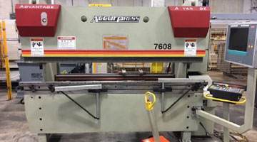 Accurpress -Advantage 7608 Press Brake (1999)