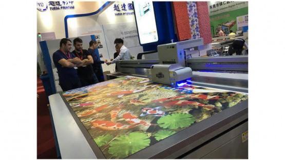U.V Digital Flatbed Printing Machine